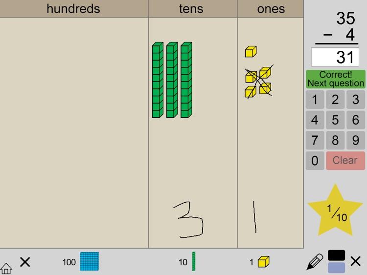 Base Ten Blocks Math screenshot-3