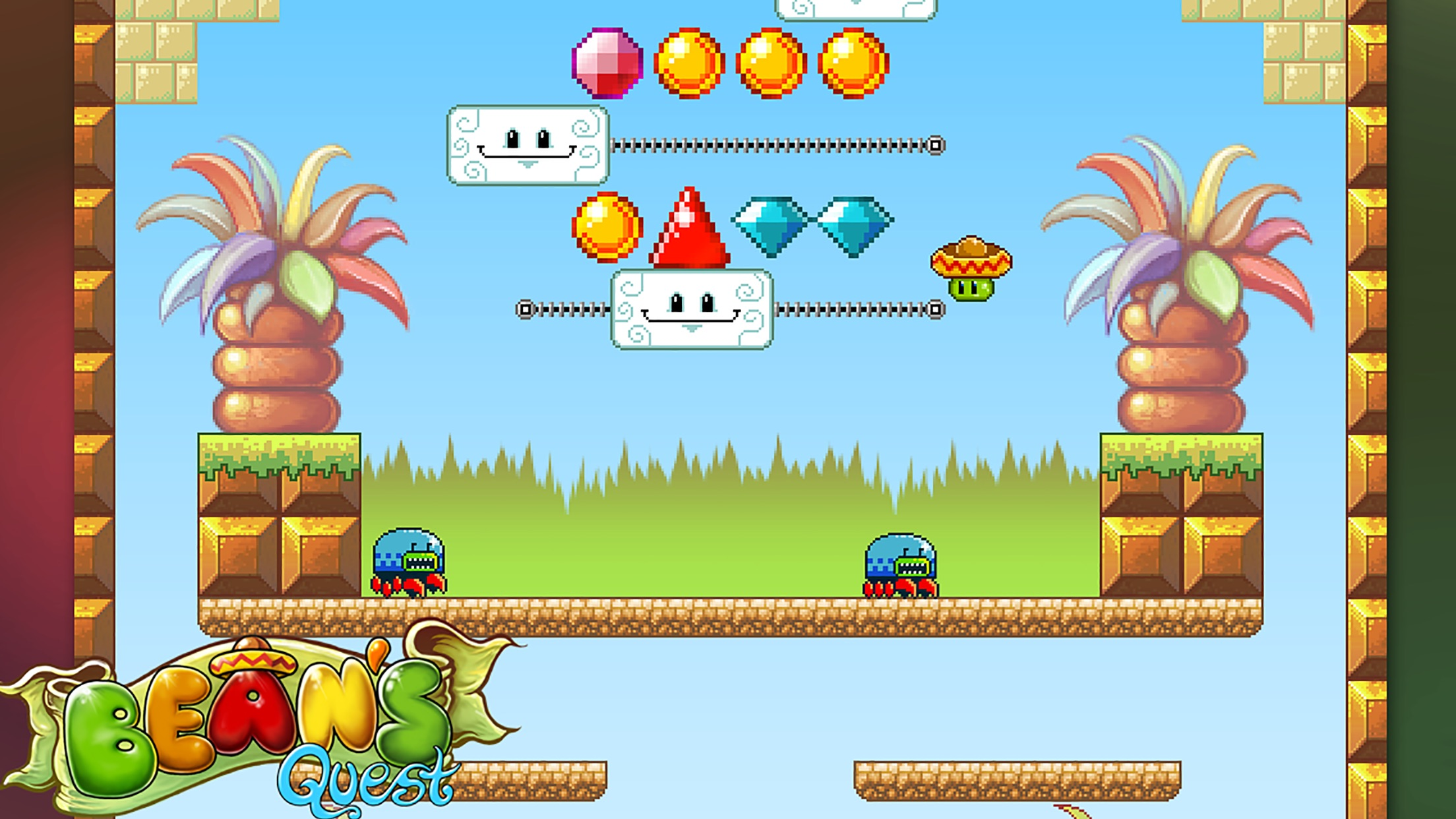 Screenshot do app Bean's Quest