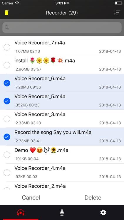 Voice recorder - Voz screenshot-5