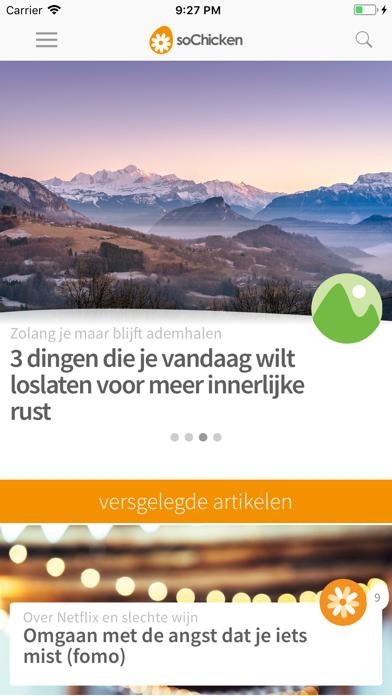 soChicken iPhone app afbeelding 1