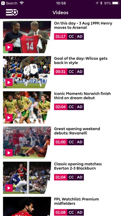 Premier League - Official App screenshot-4