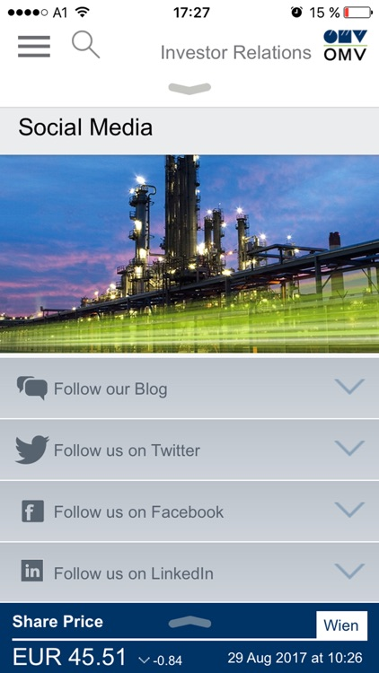 OMV Investor Relations 2.0 screenshot-3