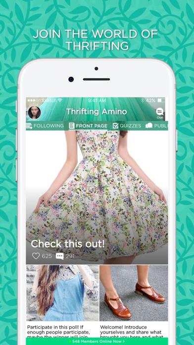 Thrifting Amino-0
