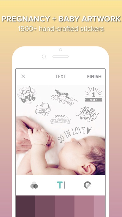 Little Nugget - Baby Journal app image