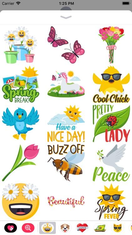 Spring Fling by EmojiOne