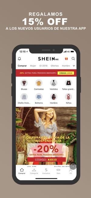 SHEIN-Fashion Online Shopping en App Store 7b0ab3c3753