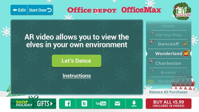 ElfYourself® By Office Depot Screenshot
