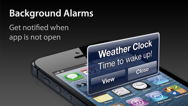 Weather Clock Forecast Alarm On The App Store