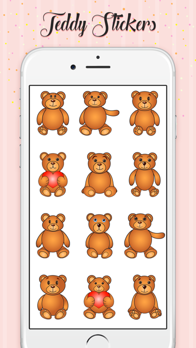 Teddy Love Stickers screenshot 4