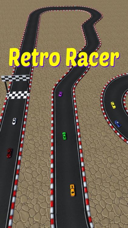 Retro Racer arcade race game screenshot-4