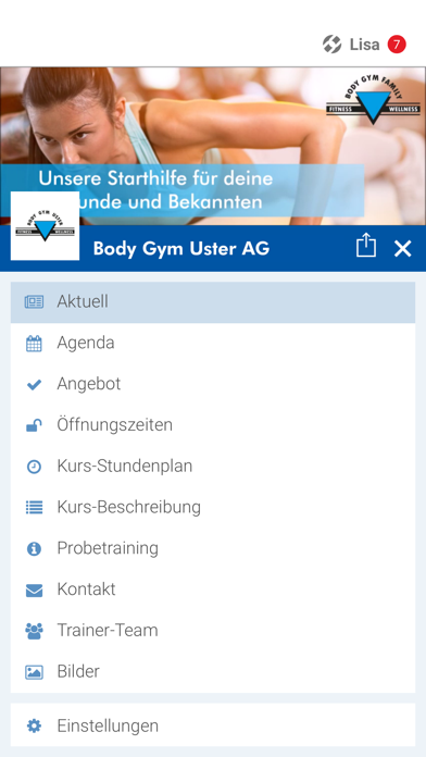 Body Gym Uster AG screenshot 2