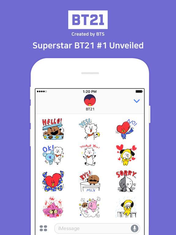Superstar BT21 #1 Unveiled Скриншоты5