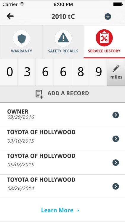 Toyota Owners screenshot-3