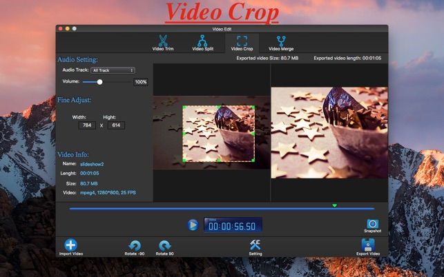 mac lossless video editor