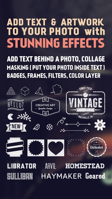 Fonta - Typography design ( Cool fonts & Artwork ) Screenshot