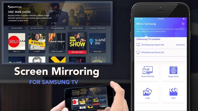 Mirror for Samsung TV Streamer