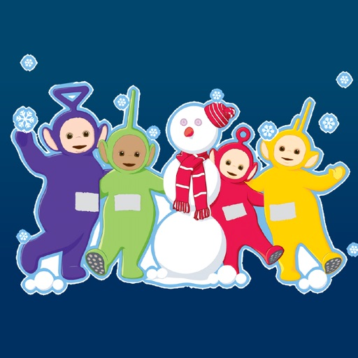 Teletubbies Holiday Stickers