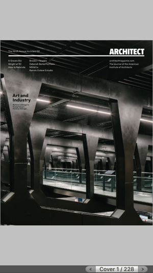 Architect magazine reader on the app store - Application architecture ipad ...
