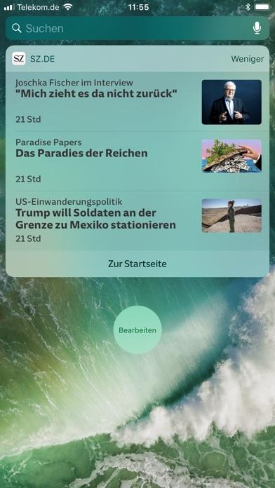 SZ.de Nachrichten SZ Скриншоты7