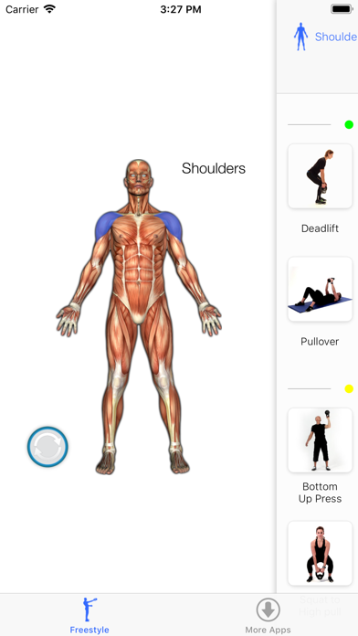 Virtual Trainer Kettlebellのおすすめ画像6