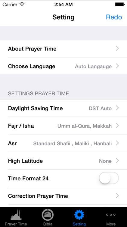 Prayer Time Pro(مواقيت الصلاة) screenshot-3