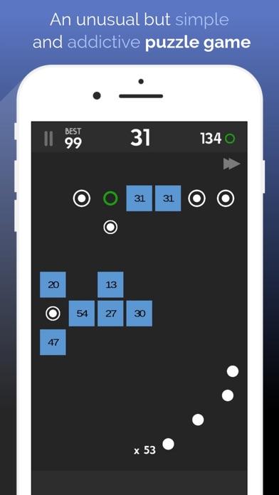 Swipe Brick Breaker. Ping-Pong screenshot one