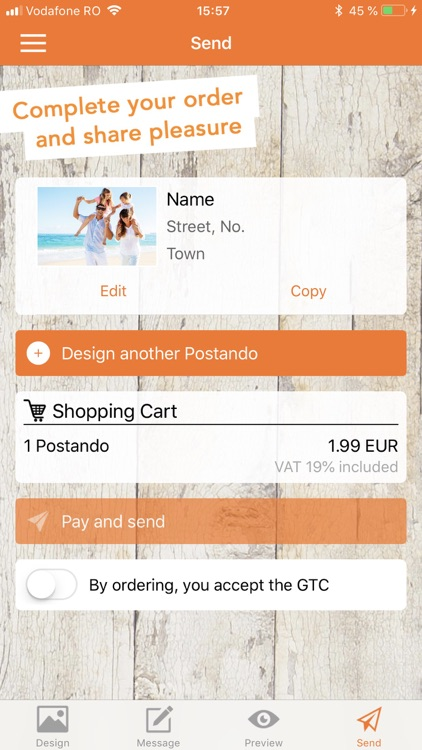 Postando – Postcard App screenshot-5