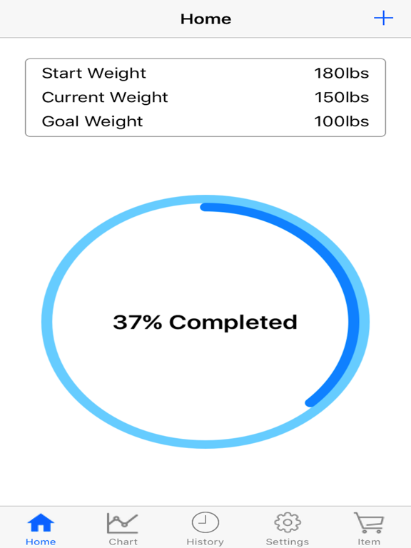 Body Weight Loss Tracker With Record Chart And Log screenshot 5