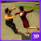 women gangster fight icon
