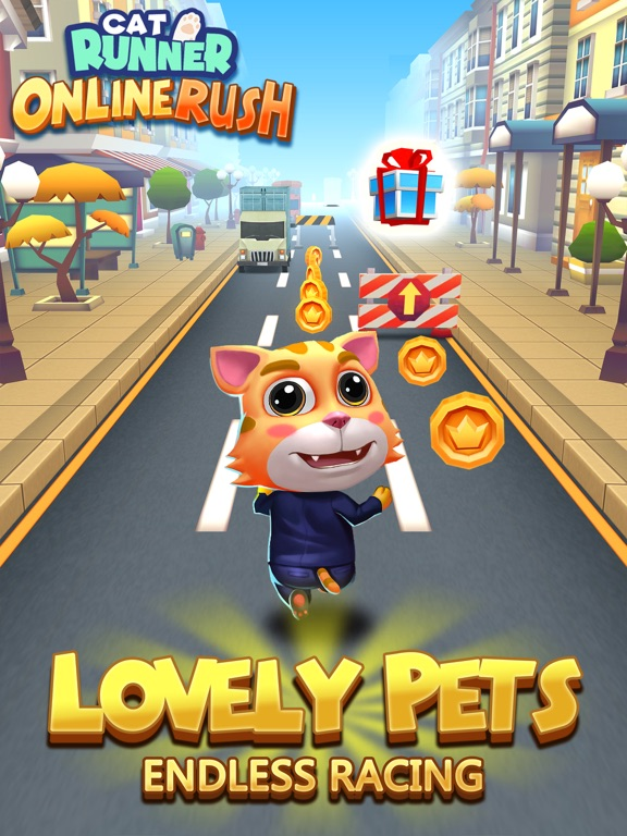 Cat Runner - Online Rush для iPad