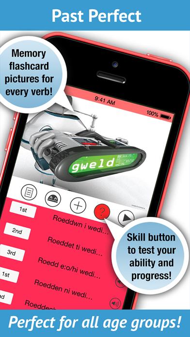 Learn Welsh Verbs - LearnBots screenshot three
