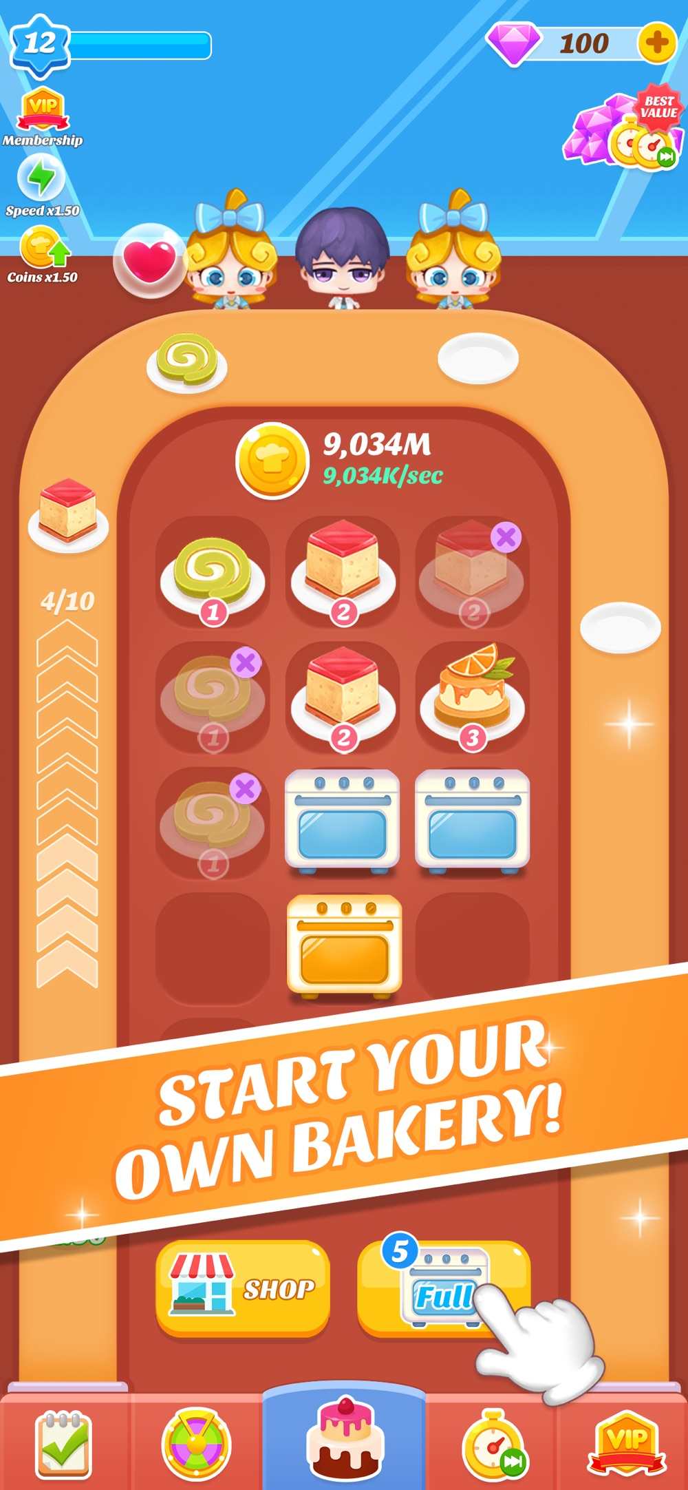 Merge Desserts – Idle Game Cheat Codes