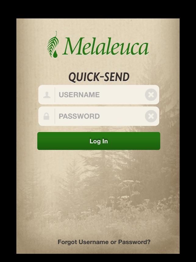 Melaleuca Quick-Send on the App Store