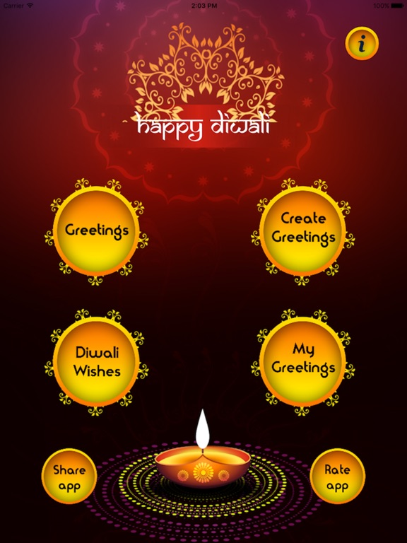 Diwali greeting cards wishes app price drops screenshot 2 for diwali greeting cards wishes m4hsunfo