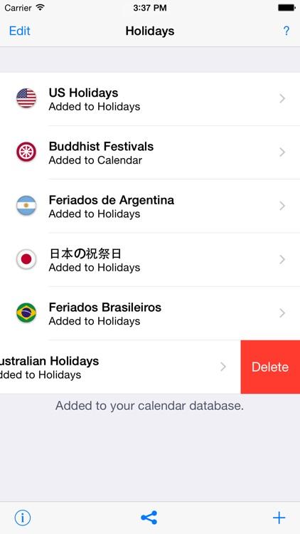 Holidays 2018 edition screenshot-4