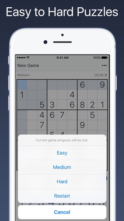 Sudoku - Classic Logic Game