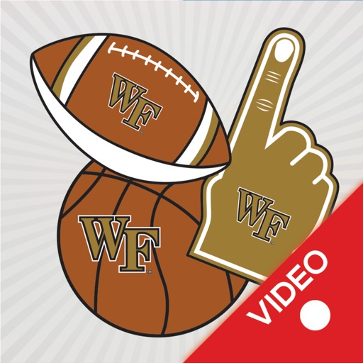 Wake Forest Demon Deacons Animated Selfie Stickers