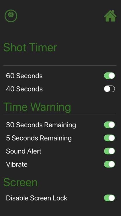 8 Ball Shot Timer screenshot-3