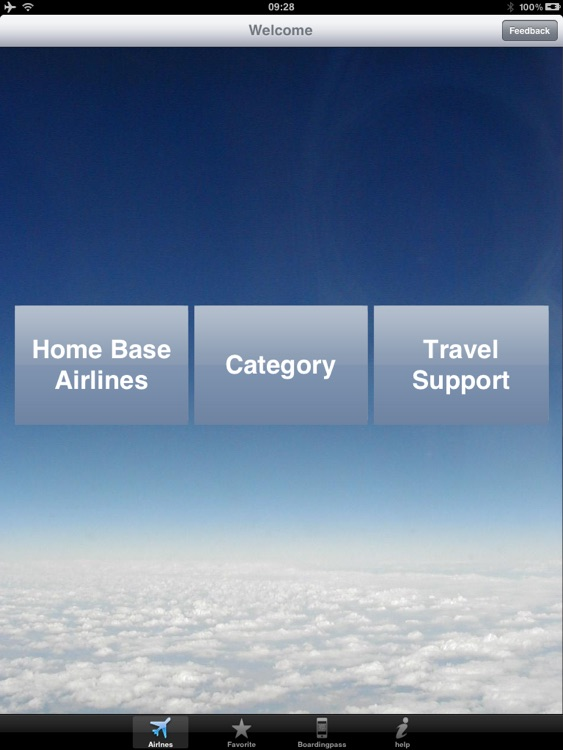 Airline Flight Check-In Europe for iPad