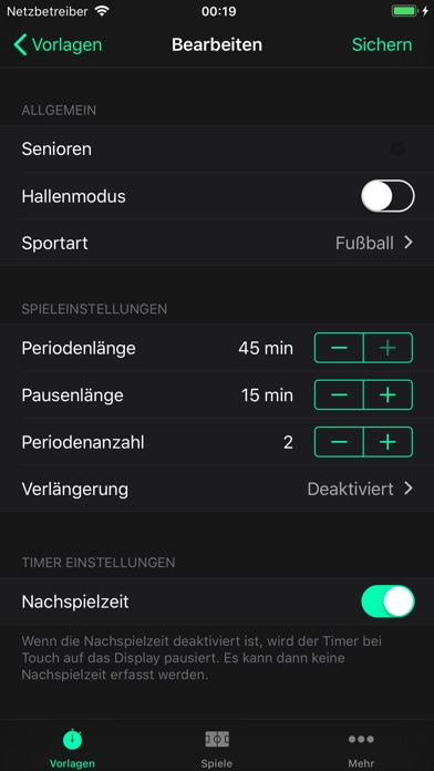 Screenshot for Referee Watch PRO in Germany App Store