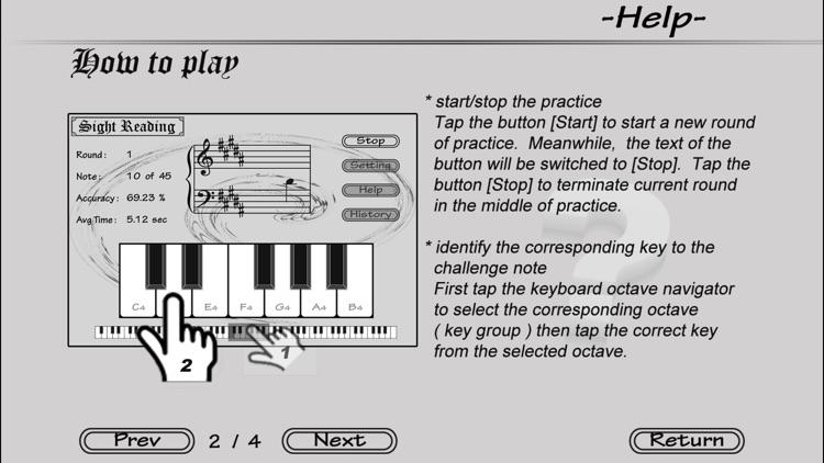 Piano Sight Reading - Lite screenshot-4