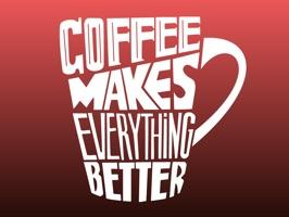 Coffee Time Fun Stickers App