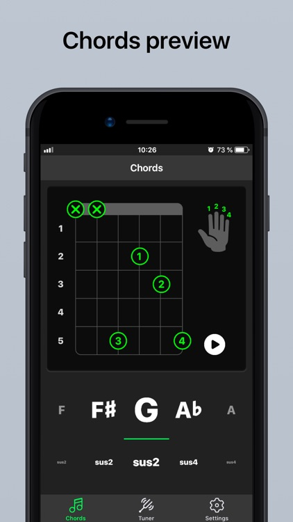 Guitar Tuner Pro, Bass,Ukulele screenshot-3