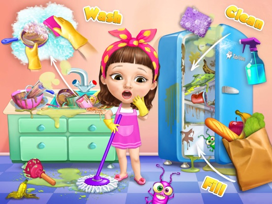 Sweet Baby Girl Cleanup 5 - No Ads на iPad