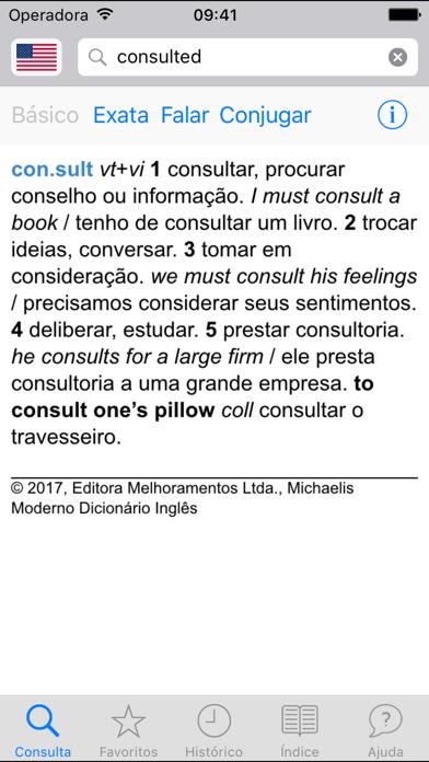 Dicionário Michaelis Inglêsのおすすめ画像1