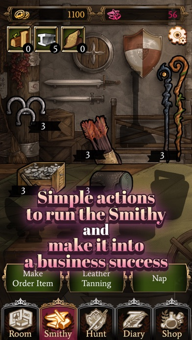 女剣士と秘密の日記(女剣士メーカー) screenshot1