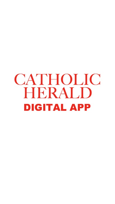 Catholic Herald Magazine screenshot one
