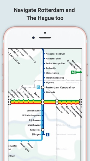 Amsterdam and Rotterdam Metro on the App Store