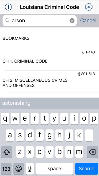 LA Criminal Code 2018 screenshot-0