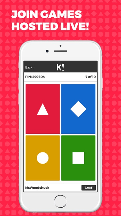 Kahoot! - Play Learning Games app image
